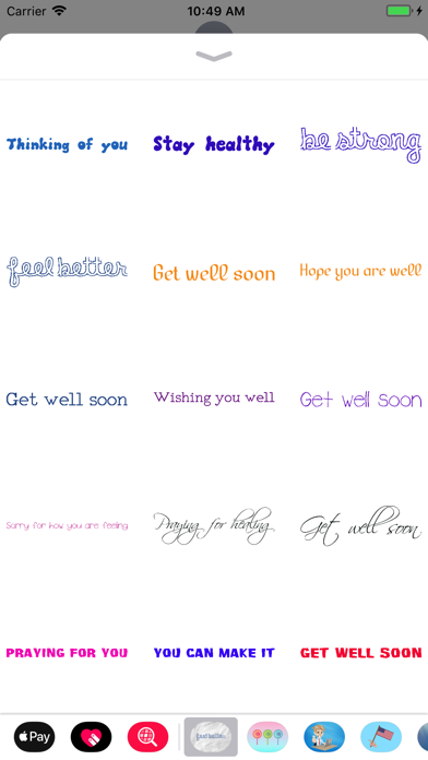 Get Well Soon Encouragements screenshot three