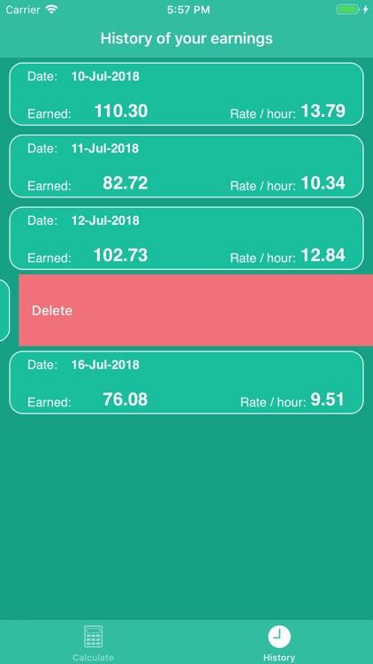 PiecePay: Piecework Calculator screenshot-8