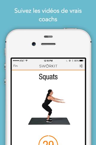 Sworkit: Workouts & Plans screenshot 4