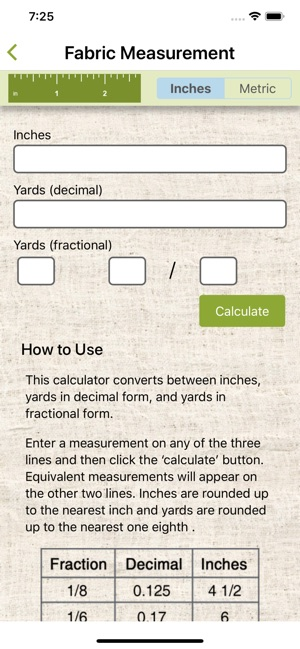 QuiltingCalc on the App Store