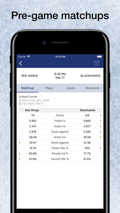 Pro Hockey Schedule for NHL screenshot-3