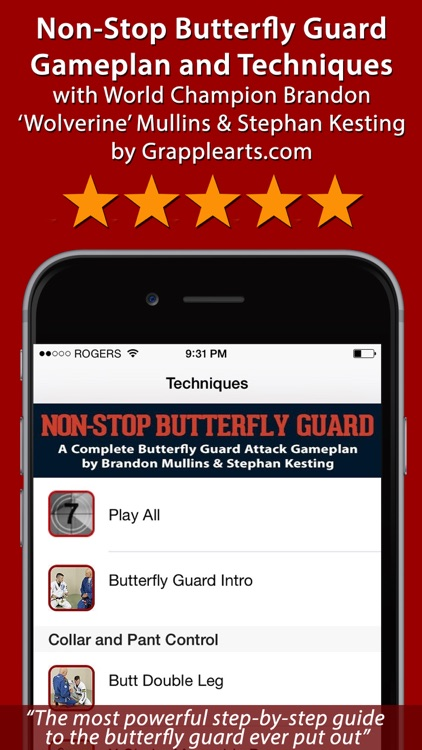 Non-Stop Butterfly Guard screenshot-0