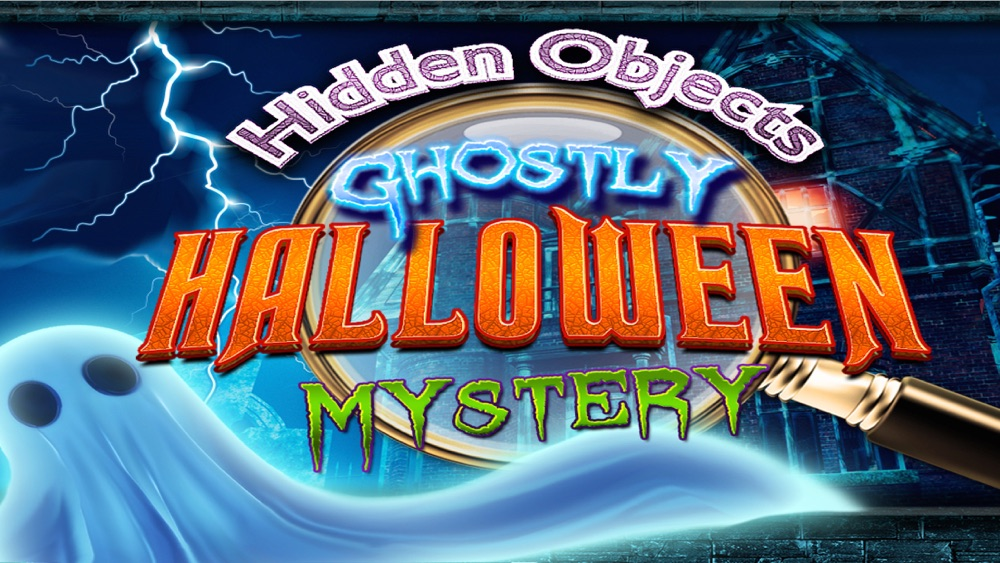 Hidden Objects Ghostly Halloween Haunted Mystery