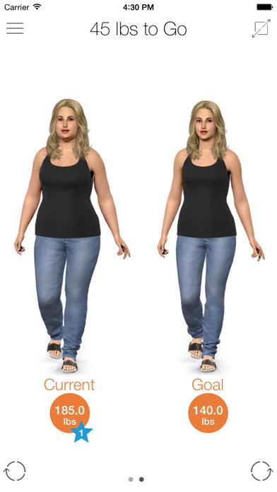 Model My Diet - Women screenshot 1
