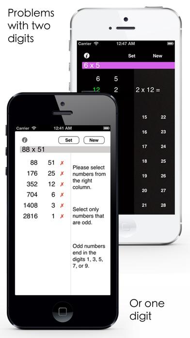 Russian Multiplication Screenshots