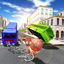 Chained Coach Bus 3D