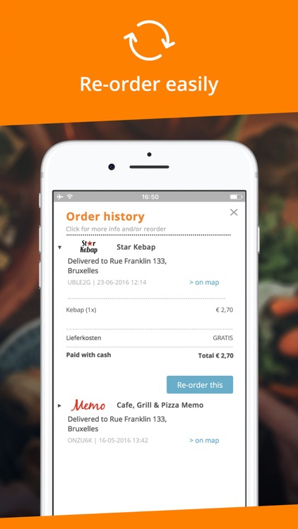 Takeaway.com - Order food screenshot-4