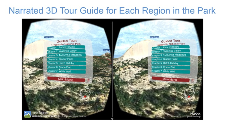 Parks Explorer VR - Yosemite