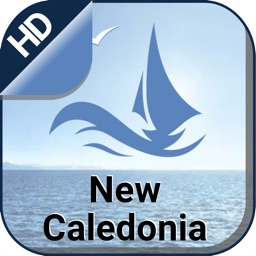 New Caledonia nautical offline charts for sailing