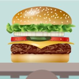 ハンバーガーを作ろう -脳トレパズル-