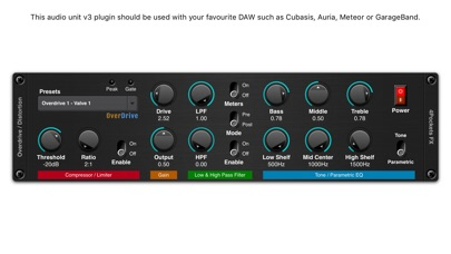 Overdrive AUv3 Plugin screenshot 2