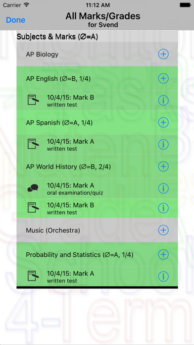 Grade Monitor screenshot four