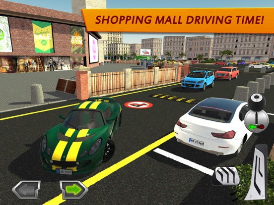 Shopping Mall Car Driving на iPad