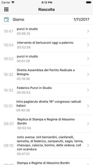 Radio radicale su app store for Radio radicale in diretta
