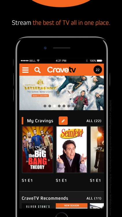 CraveTV screenshot-0