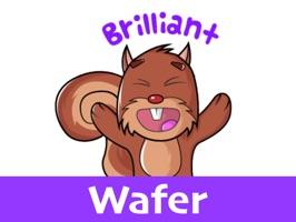Squirrel Stickers (Wafer)