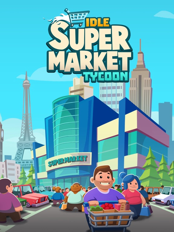 Screenshot #1 for Idle Supermarket Tycoon - Shop