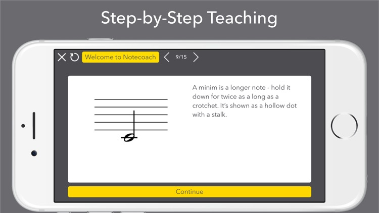 Notecoach Piano Lessons screenshot-3