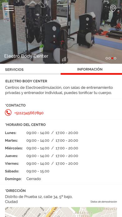 Electro Body Center screenshot one