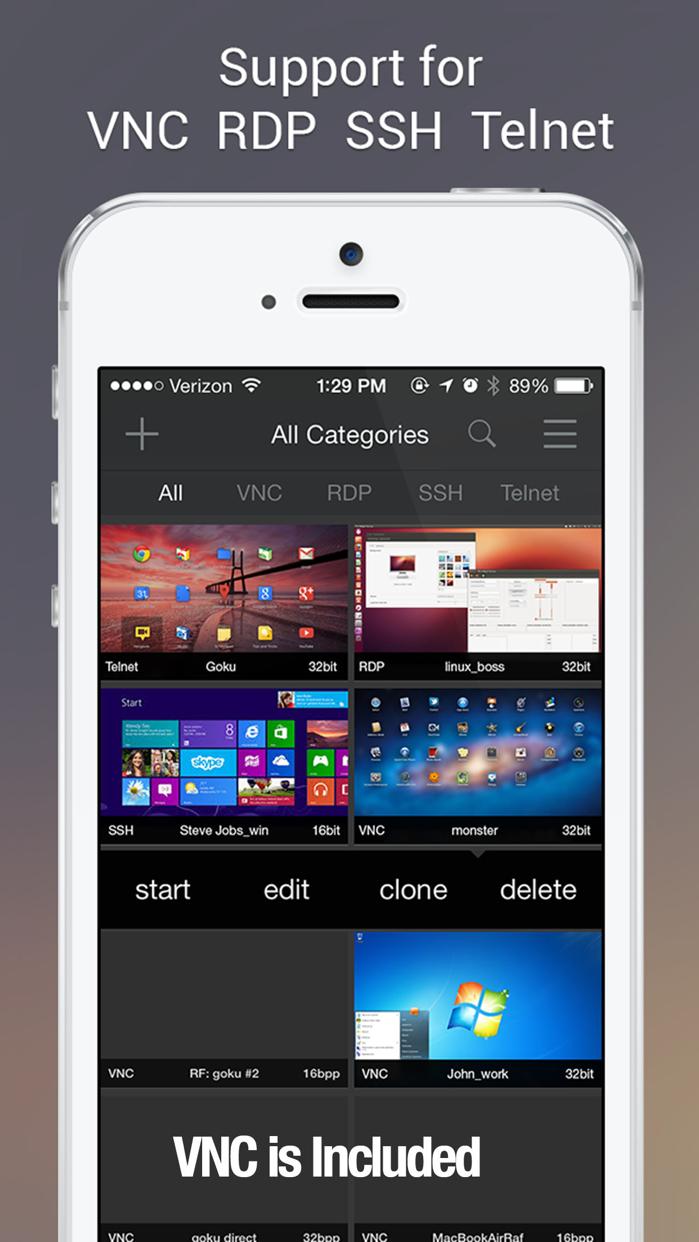 Remoter VNC - Remote Desktop Screenshot