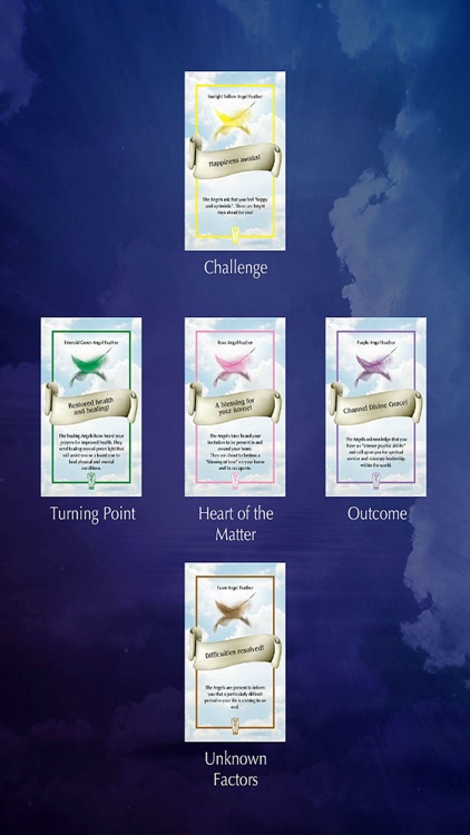 Angel Feather Oracle Cards screenshot-4