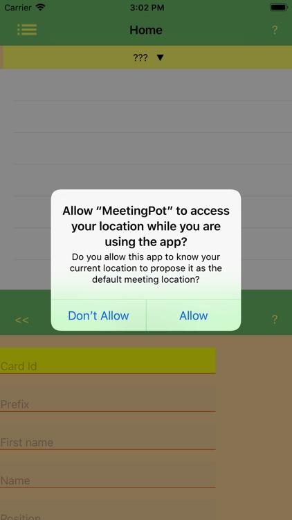 MeetingPot screenshot-4