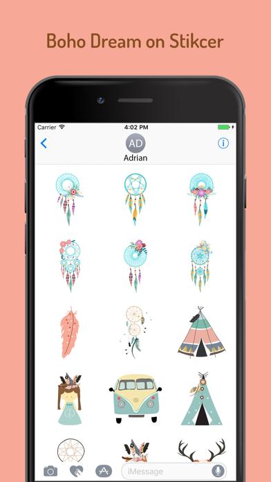 Boho Dream Sticker Pack screenshot one