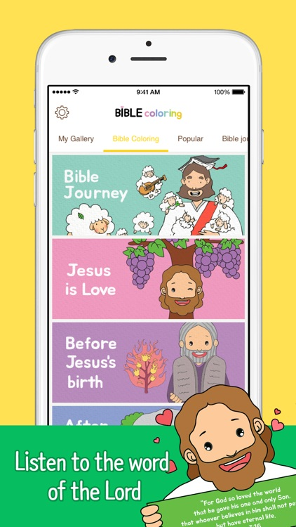 Bible Coloring screenshot-1