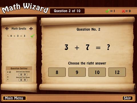 Math Wizard. - náhled