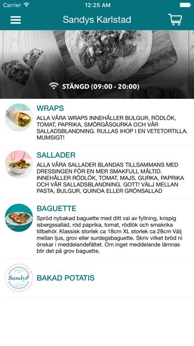Sandys Sverige Screenshot