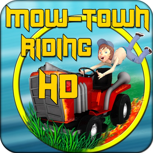 Mow-Town Riding HD icon