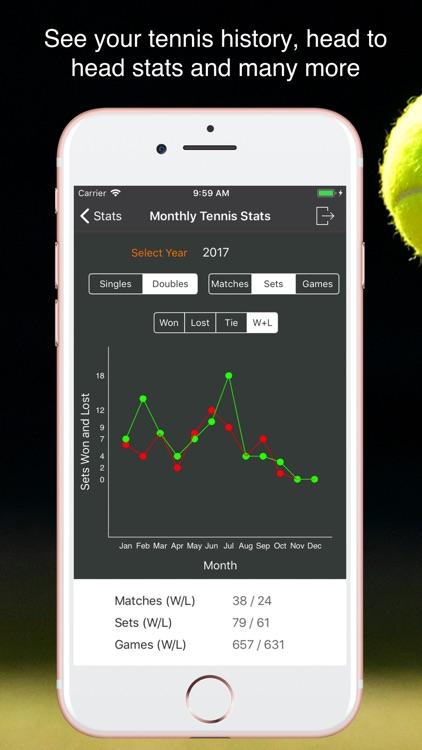 TennisKeeper - Tennis Tracker screenshot-6