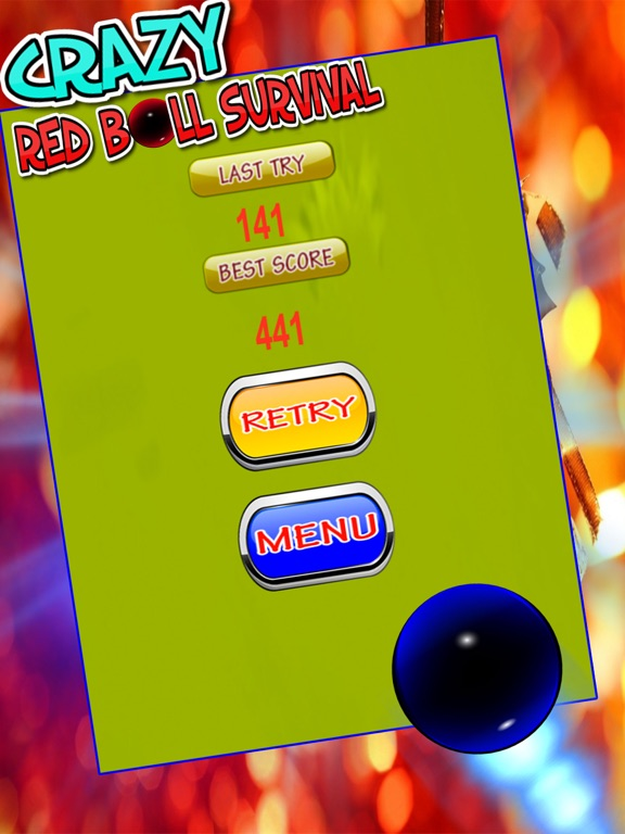 Crazy Red Ball Survival-ipad-1