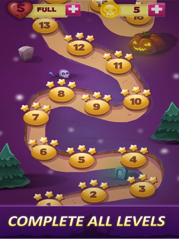 Halloween Games Witching Hour Скриншоты7