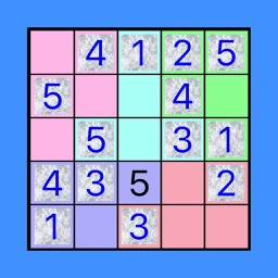 5x5!? Easy SUDOKU Eccentric Version