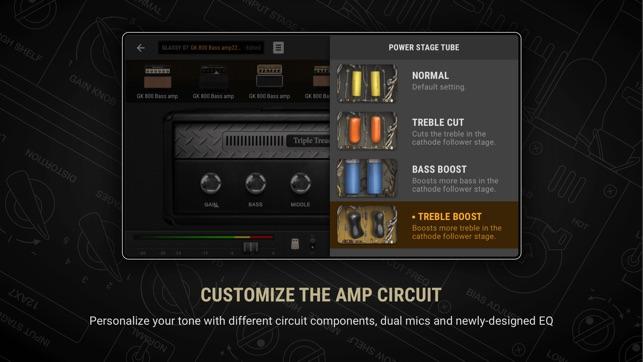 BIAS AMP 2 for iPhone Screenshot