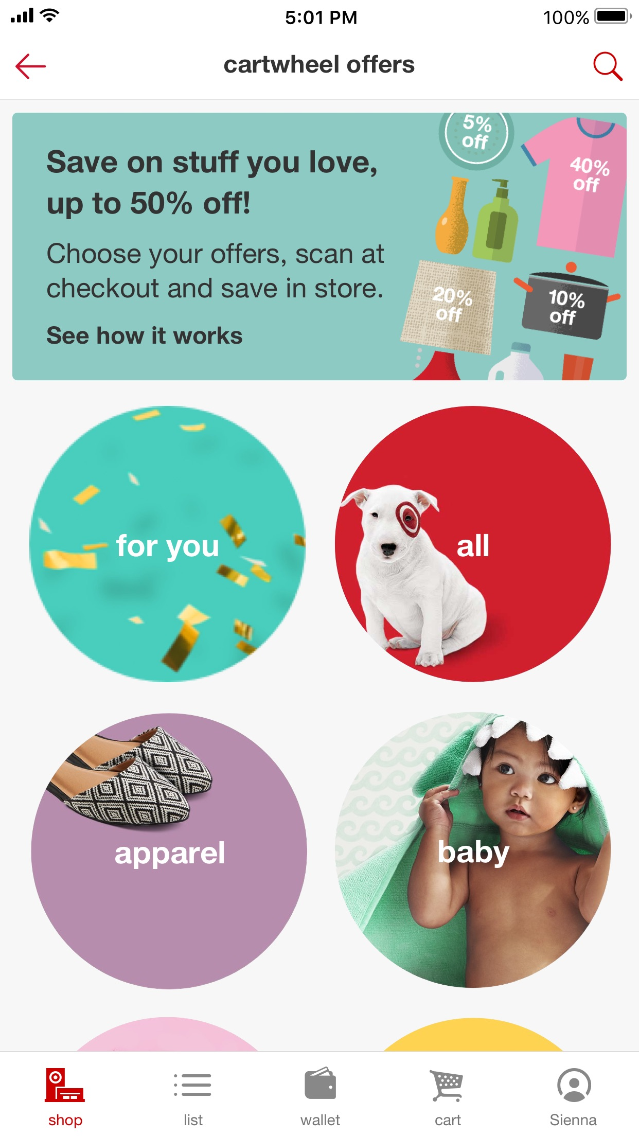 Target Screenshot