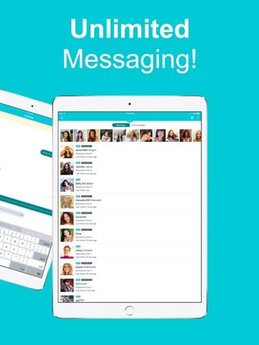Kostenlose mobile Dating-App für Brombeere