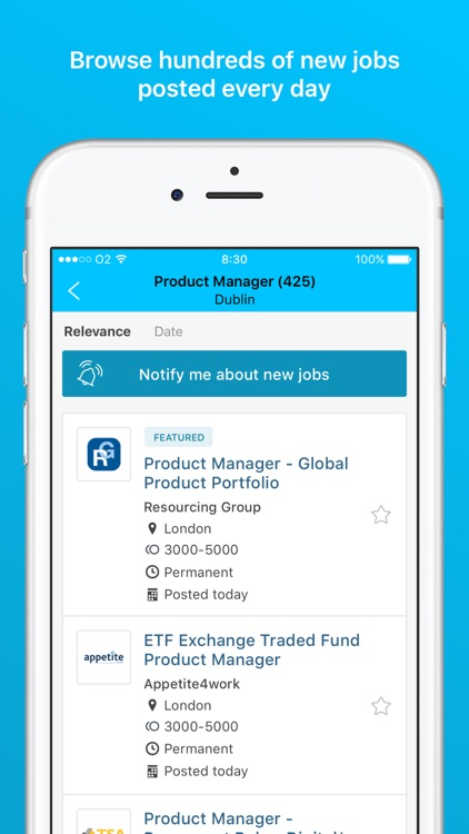 IrishJobs.ie - Job Search App