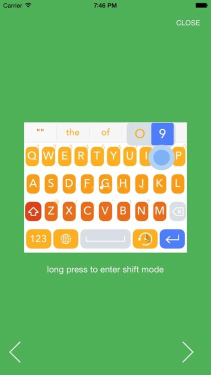IntelliBoard-intelligent swipe keyboard screenshot-4