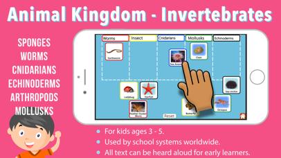 Animal Kingdom (Invertebrates) screenshot 1