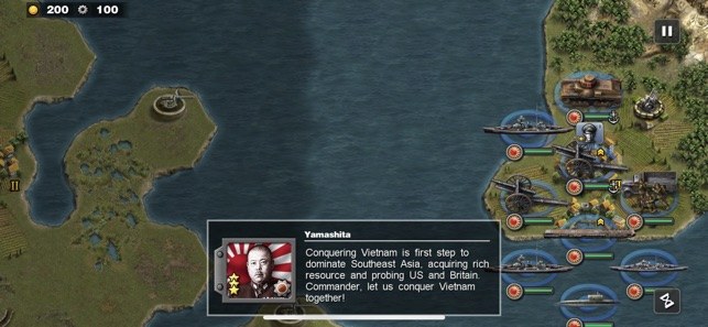 Glory of Generals: Pacific War on the App Store