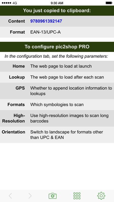 Pic2shop Pro review screenshots