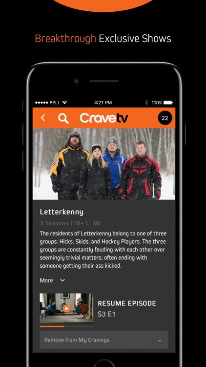 CraveTV screenshot-3
