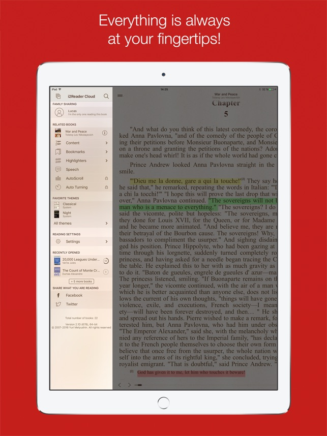 i2Reader Cloud on the App Store