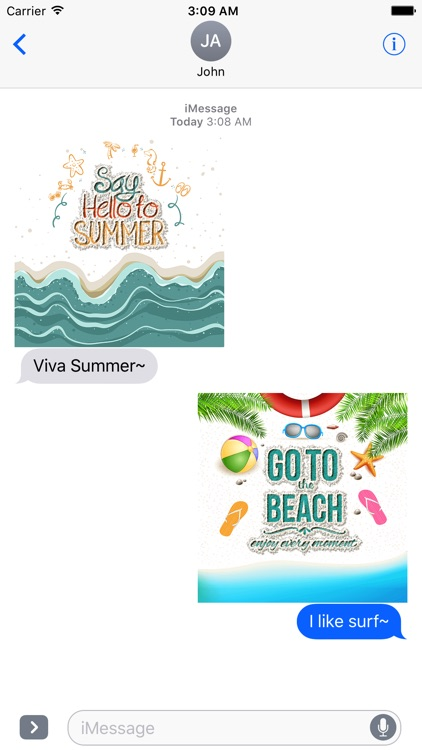 Summer Quotes & Message written on the Sand