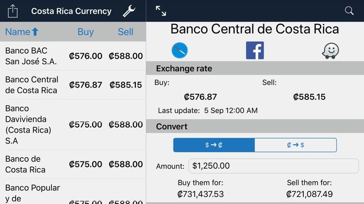 Costa Rica Currency screenshot-3