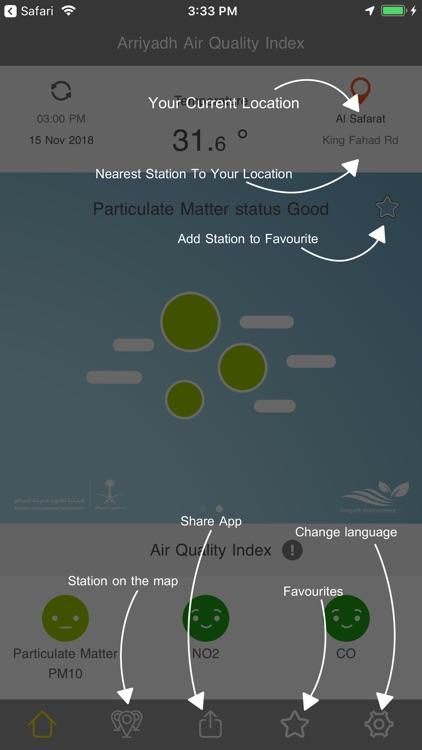 جودة هواء الرياض screenshot-9