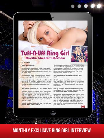 Скриншот из MMA Main Event Magazine