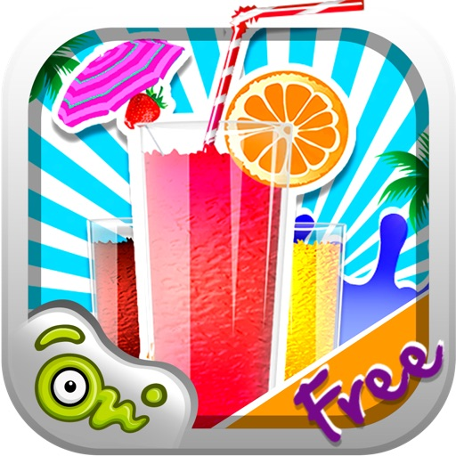 Ice Slush Maker - Fair Food Decorating & Dress up game for Kids, toddlers and girls